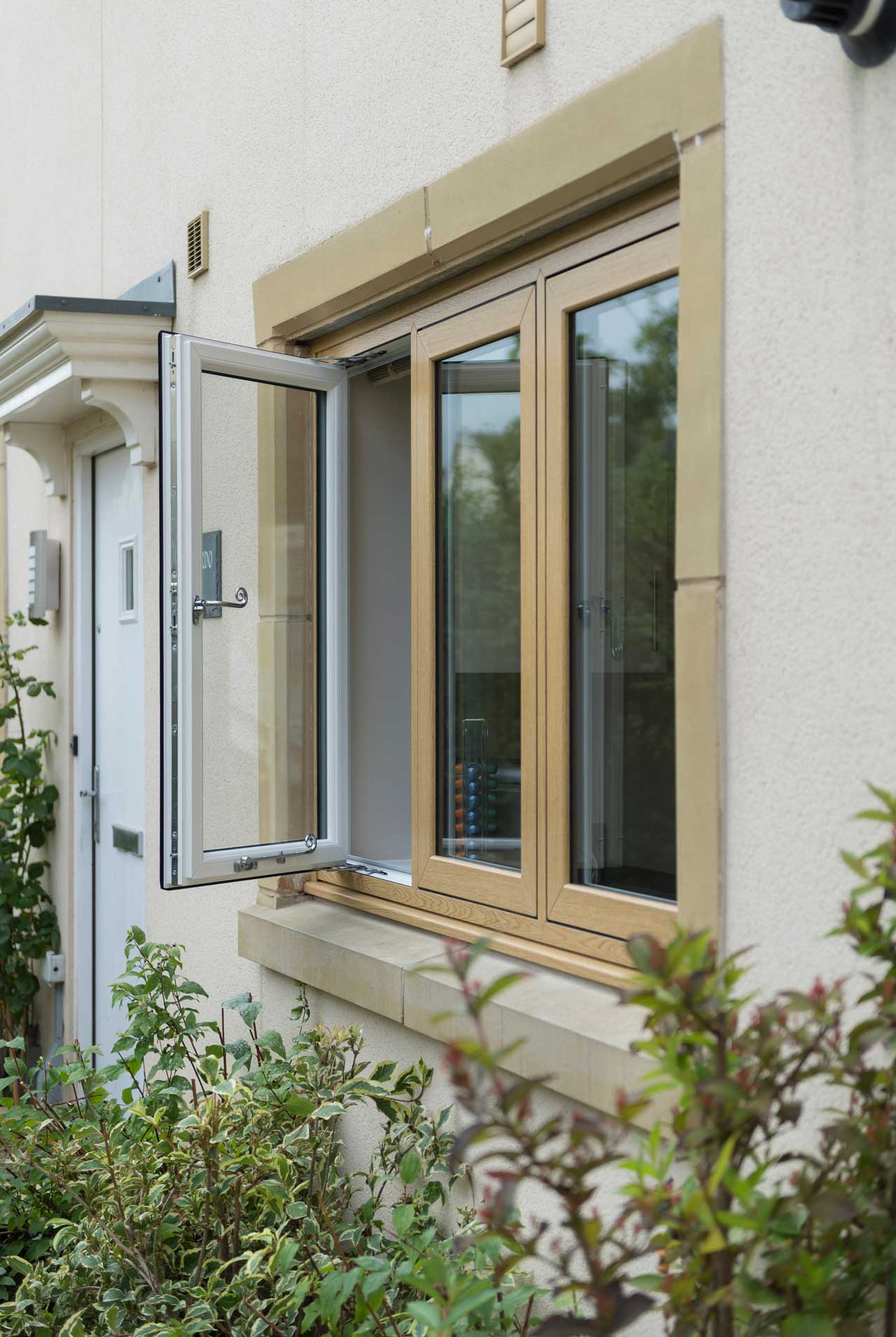 flush casement windows Mere