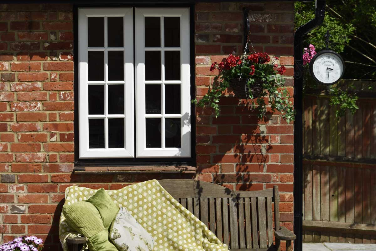 French casement windows Mere